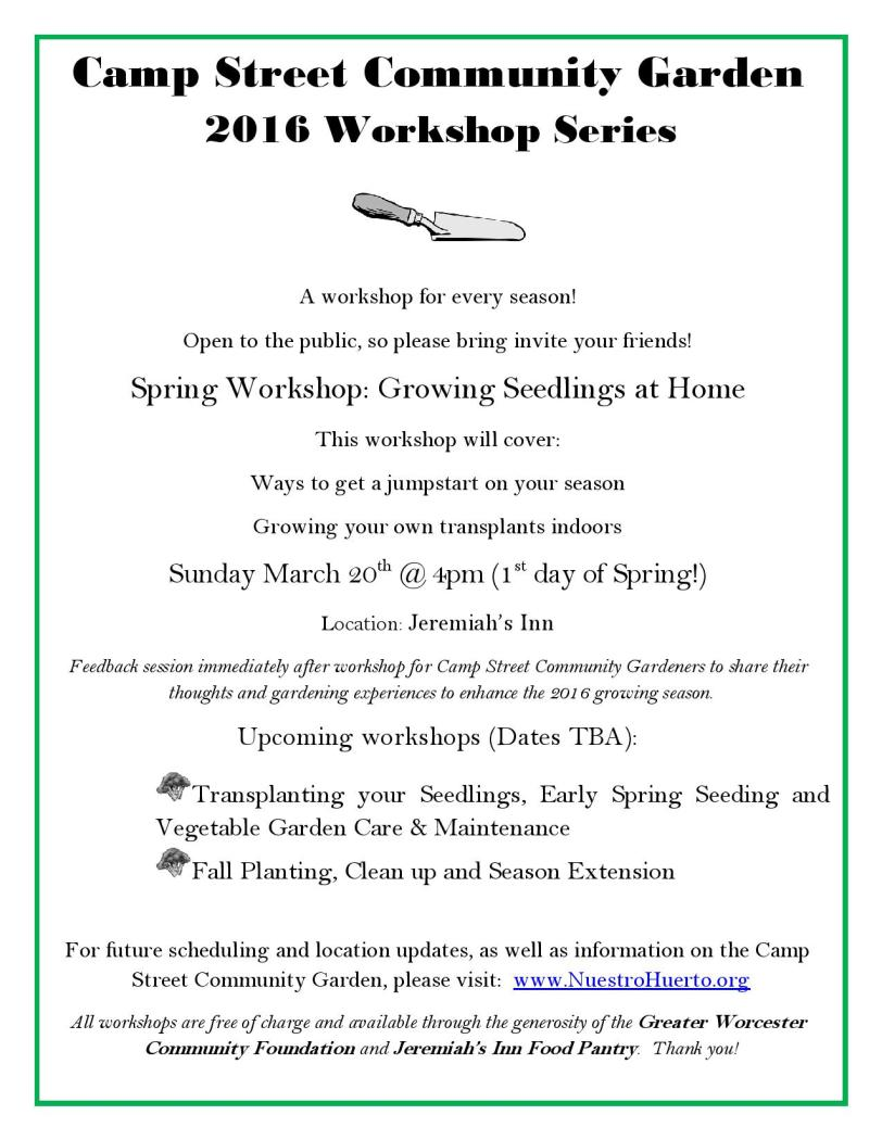 CSCG 2016 Workshop Flier 2
